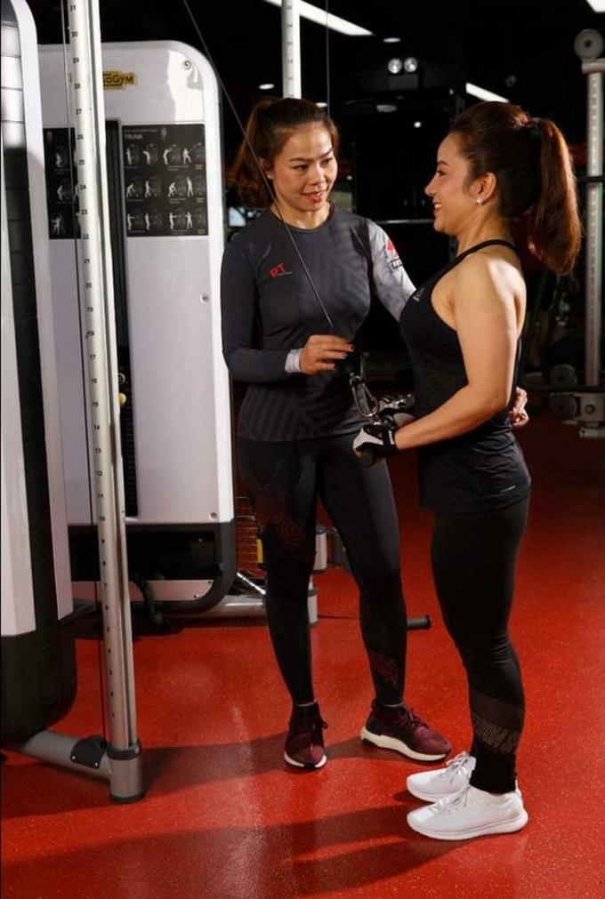 Chị Tạ Linh - Giám đốc Đào tạo Huấn luyện viên cá nhân của California Fitness & Yoga.
