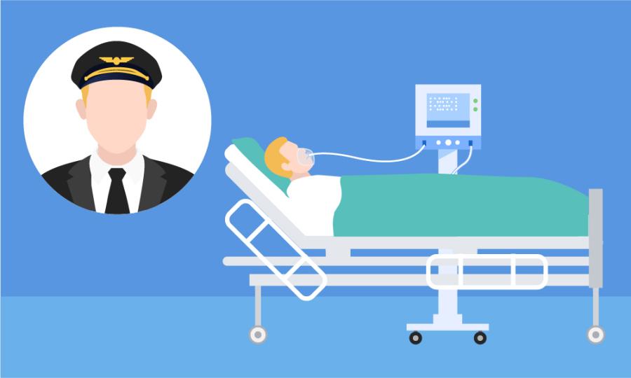'Chuyến bay' trở về từ cõi chết của bệnh nhân phi công