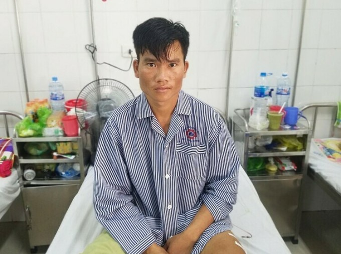 Bệnh nhân hiện sức khỏe ổn định, chuẩn bị xuất viện. Ảnh: Bác sĩ cung cấp