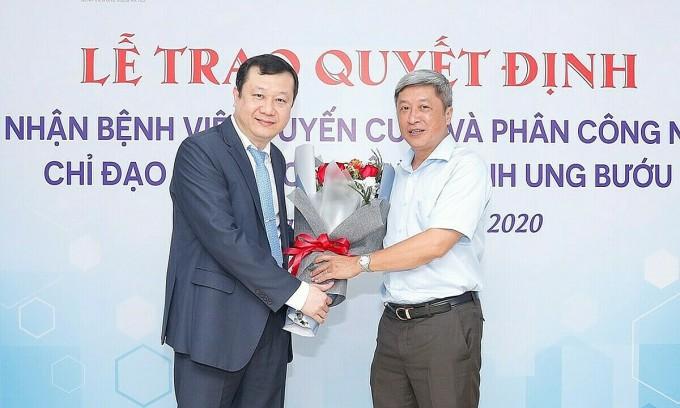 Bệnh viện ung bướu Hà Nội được công nhận tuyến cuối