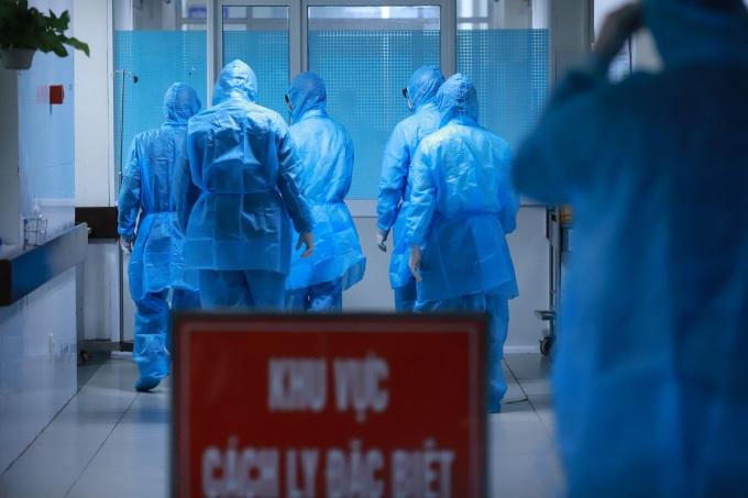 Khu cách ly 3 lớp tại Khoa Y học nhiệt đới Bệnh viện Đa khoa Đà Nẵng, nơi được chỉ định điều trị cho những ca dương tính Covid-19, ảnh chụp cuối tháng 1/2020. Ảnh: Nguyễn Đông