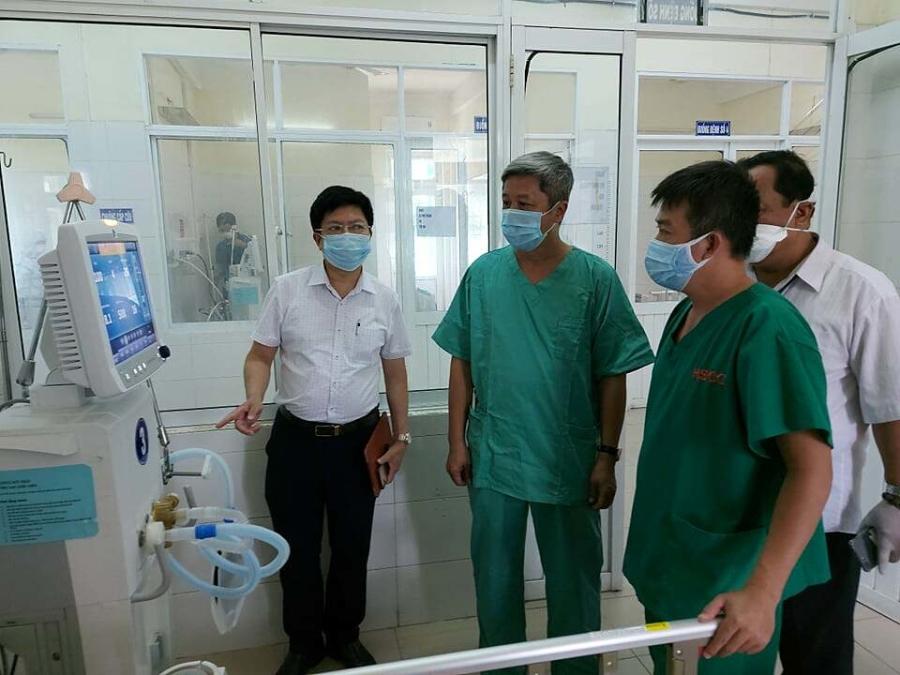 24 giường ICU sẵn sàng đón bệnh nhân Covid-19 nặng