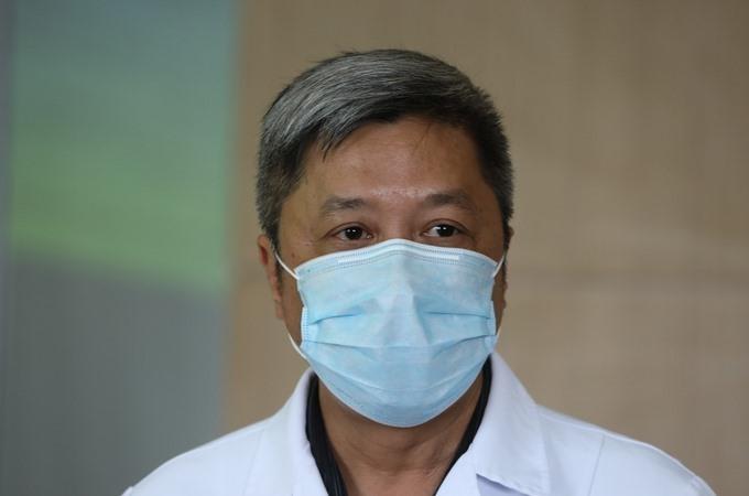 Thứ trưởng Y tế Nguyễn Trường Sơn. Ảnh:Ngọc Thành.
