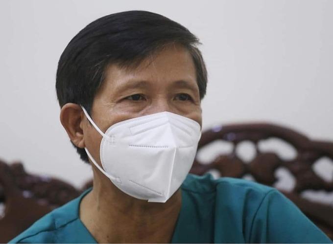 Bác sĩ Trần Công Thông, Giám đốc Trung tâm 115 Đà Nẵng. Ảnh: Lê Bảo.