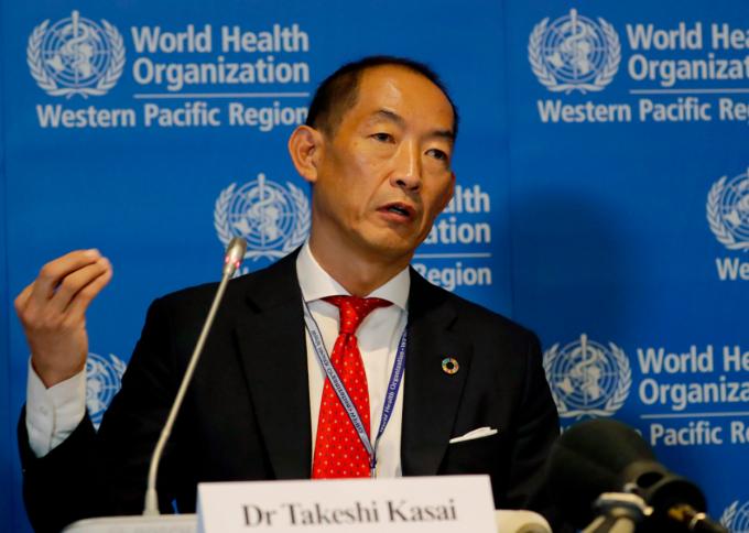 Ông Takeshi Kasai, tổng giám đốc WHO khu vực châu Á - Thái Bình Dương. Ảnh: AP