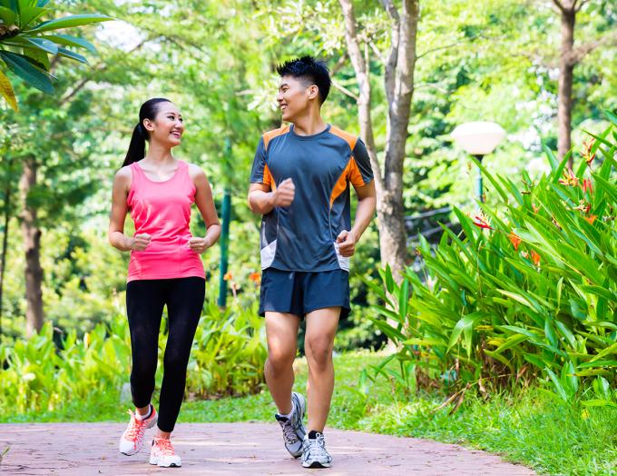 Tập luyện thể lực thường xuyên có thể làm giảm nguy cơ xuất hiện nhồi máu cơ tim. Ảnh: Shutterstock.