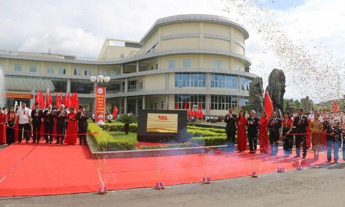 Bệnh viện Đa khoa tỉnh Sơn La khai trương ngày 22/9. Ảnh: Bộ Y tế.
