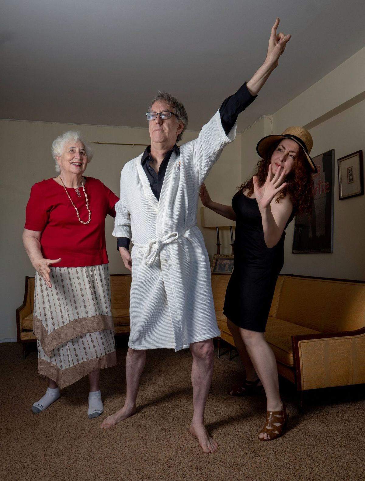 Những người cao tuổi lạc quan trong đại dịch