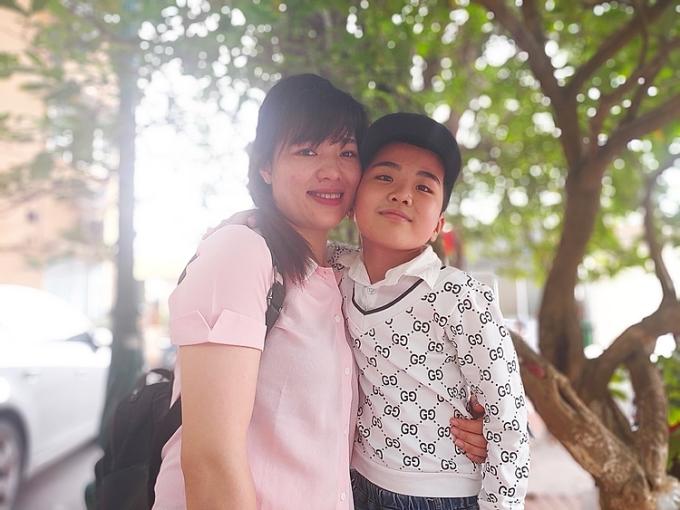 Bình và mẹ