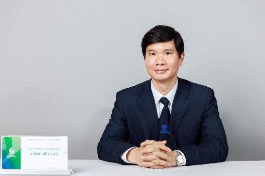 Bác sĩ Trần Viết Lực - Trưởng khoa Khám bệnh, Bệnh viện Lão khoa Trung ương.