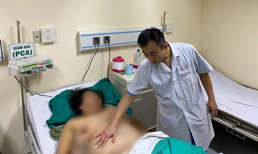 Người phụ nữ nặng 115 kg cắt hút hơn 5 kg mỡ bụng