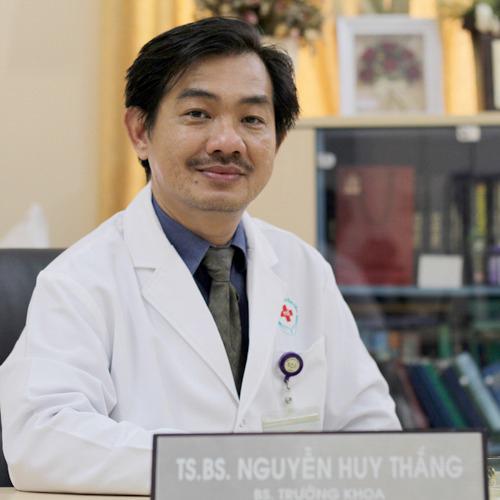 Tiến sĩ, bác sĩ Nguyễn Huy Thắng. Ảnh: Bệnh viện Nhân dân 115 TP HCM.