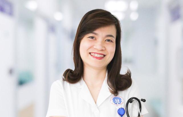 Bác sĩ chuyên khoa II Ngô Thị Thu Hương - Giám đốc Trung tâm tim mạch - Bệnh viện tỉnh Phú Thọ.