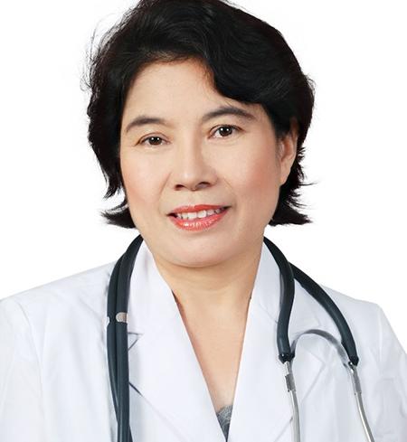 Phó giáo sư, tiến sĩ, bác sĩ Nguyễn Thị Bích Đào, Phó chủ tịch Hội Nội tiết và Đái tháo đường Việt Nam, Phó giám đốc chuyên môn Bệnh viện tim Tâm Đức