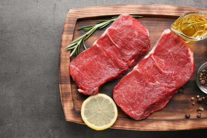 Hình minh hoạ các loại thịt đỏ. Ảnh: Shutterstock