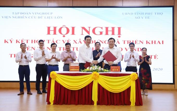 Viện Nghiên cứu Dữ liệu lớn Vingroup (VinBigdata) và Sở Y tế Tỉnh Phú Thọ kí kết hợp tác và triển khai giải pháp VinDr trong chẩn đoán hình ảnh