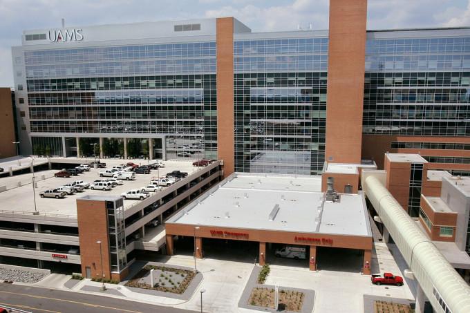 Đại học Y khoa Arkansas, Little Rock, Arkansas, Mỹ. Ảnh: NYP
