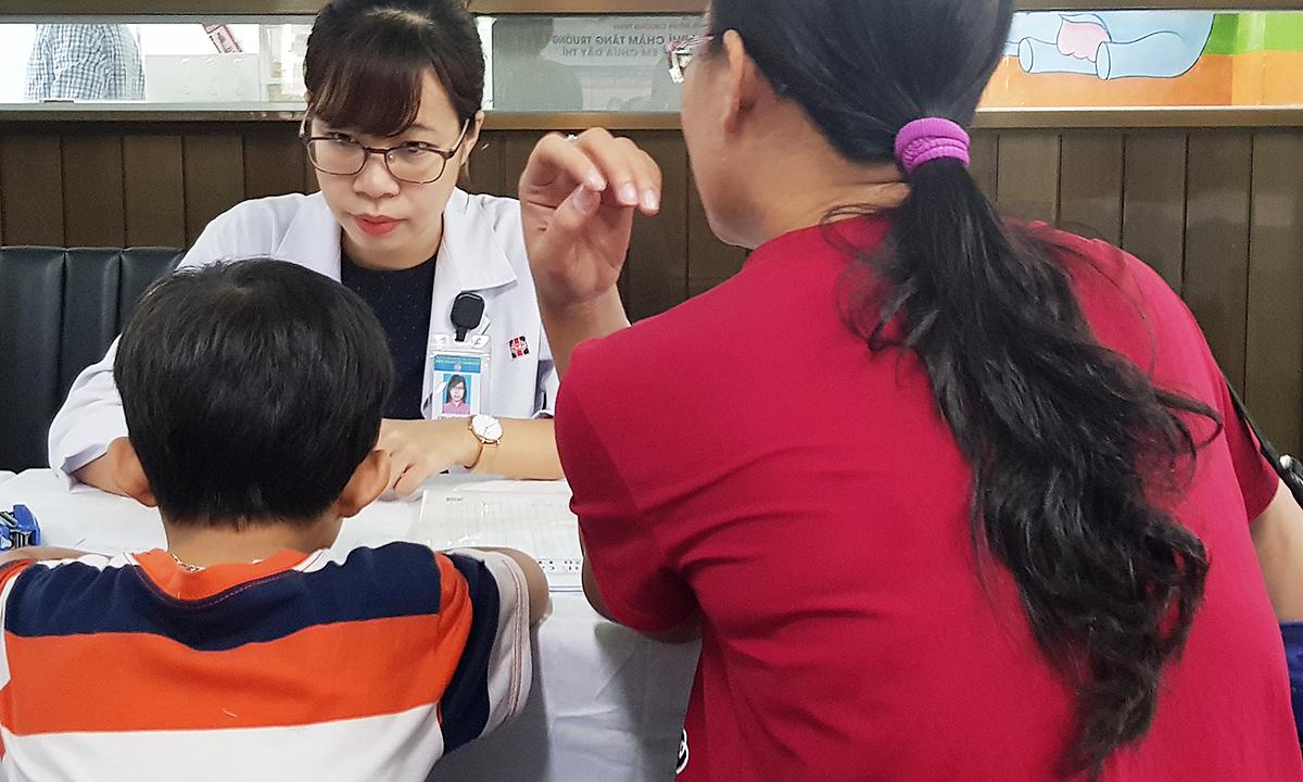 Cứ 4 trẻ Việt dưới 5 tuổi thì một bé thấp còi