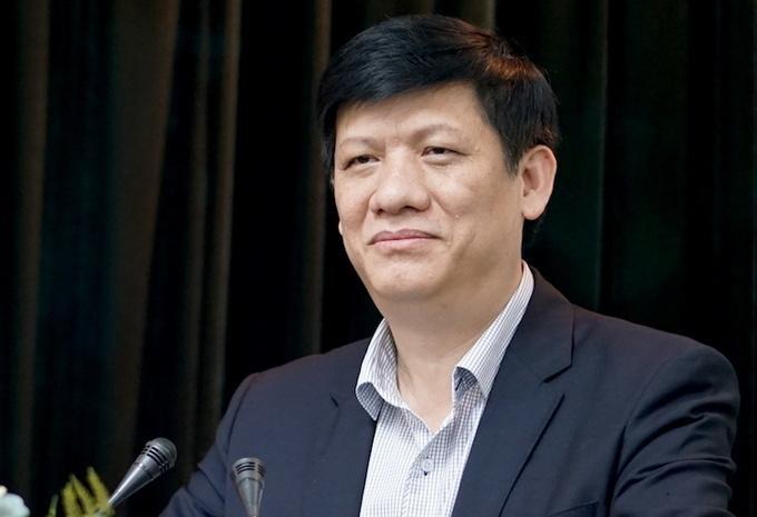 Bộ trưởng Y tế Nguyễn Thanh Long. Ảnh: Hoàng Thuỳ.