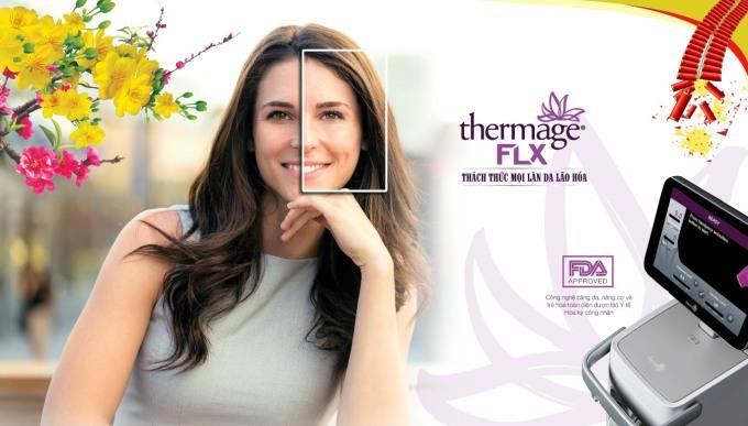 Công nghệ Thermage FLX được nhiều chị em lựa chọn, khắc phục nỗi sợ già.
