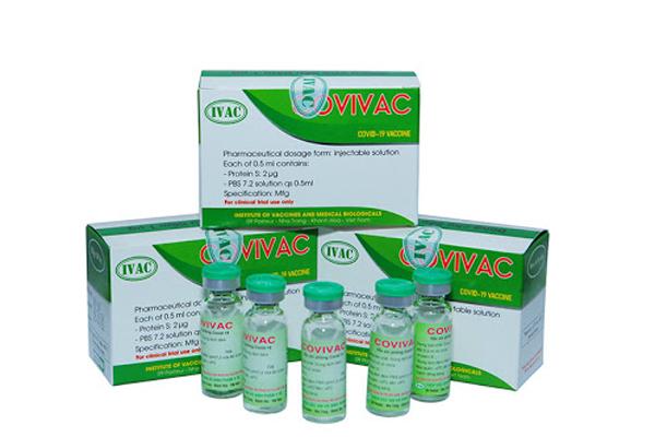 Bộ trưởng Y tế: 'Vaccine Covivac Việt Nam hiệu lực bảo vệ tốt'