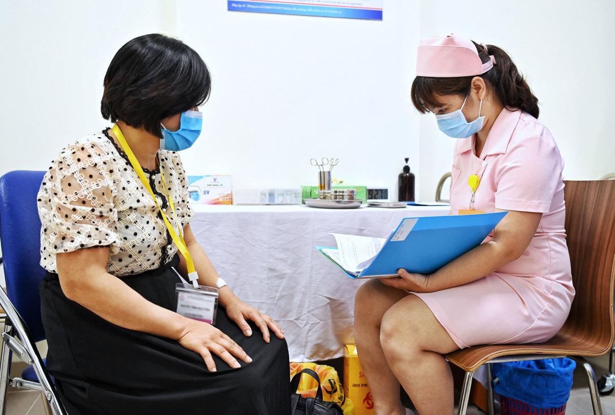 Quy trình tiêm thử nghiệm vaccine Covivac