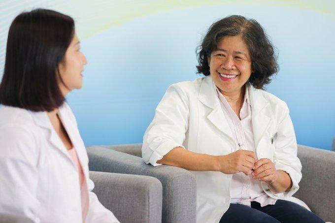 Bác sĩ Nguyễn Bá Mỹ Nhi cho biết tỷ lệ sinh mổ đang tăng lên.