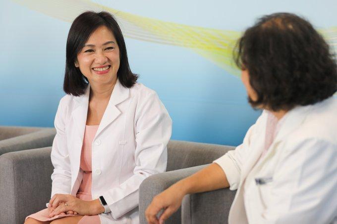 Bác sĩ Đào Thị Yến Thủy cho biết trẻ sinh mổ cần chế độ dinh dưỡng đặc biệt hơn.