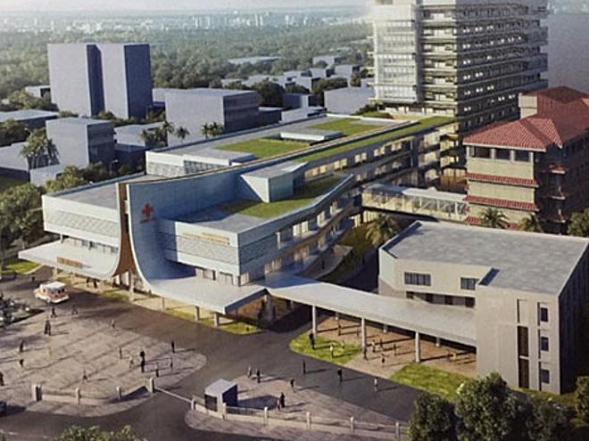 Bệnh viện Preah Kosamak, Phnom Penh, Campuchia. Ảnh: Khmer Times