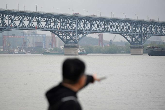 Cầu Nam Kinh được ghi nhận là nơi xảy ra nhiều vụ tự tử nhất thế giới. Ảnh: AFP