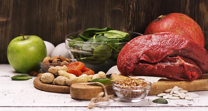 Đa dạng hóa bữa ăn là biện pháp cải thiện tình trạng thiếu vi chất dinh dưỡng. Ảnh: Azumio