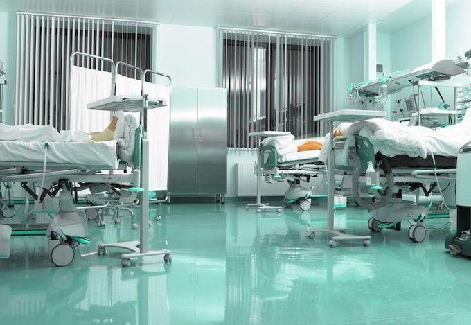 Trung tâm Hồi sức tích cực (ICU) được doanh nghiệp hỗ trợ Bắc Giang. Ảnh:SG.