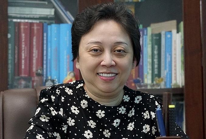 Bà Phạm Khánh Phong Lan.