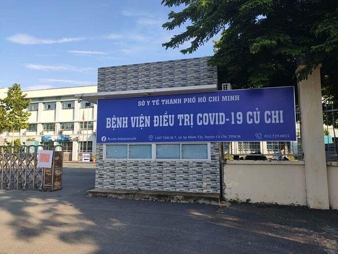Bệnh viện Điều trị Covid-19 Củ Chi. Ảnh: Bộ Y tế.