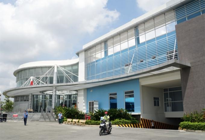 Từ ngày 24/06, Bệnh viện huyện Bình Chánh tạm thời chuyển đổi thành Bệnh viện điều trị Covid-19 Bình Chánh với quy mô 500 giường. Ảnh: Sở Y tế TP HCM.