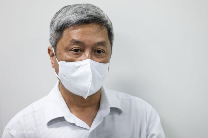 Thứ trưởng Y tế Nguyễn Trường Sơn. Ảnh: Quỳnh Trần.