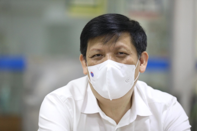 Bộ trưởng Nguyễn Thanh Long. Ảnh: Ngọc Thành.