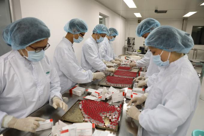 Việt Nam sản xuất lô vaccine Sputnik V đầu tiên