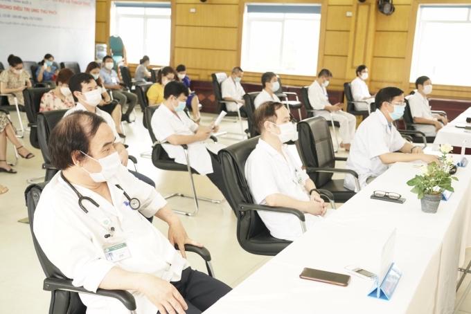 Các chuyên gia của Bệnh viện Bạch Mai sẽ tham gia đào tạo cho các học viên. Ảnh: Thế Anh.