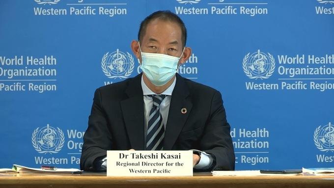 Tiến sĩ Takeshi Kasai,giám đốc WHO khu vực Tây Thái Bình Dương. Ảnh: WHO