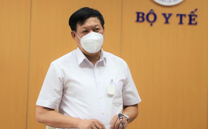 Thứ trưởng Y tế Đỗ Xuân Tuyên. Ảnh: Nguyễn Nhiên