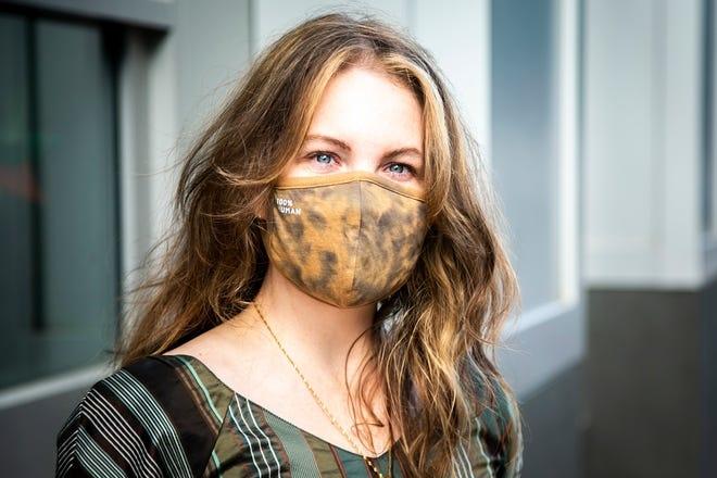 Nora Boerner, 41 tuổi, ảnh chụp ngày 17/8. Ảnh: Iowa City Press Citizen