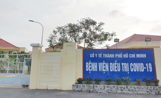 Bệnh viện điều trị Covid-19 Cần Giờ được trưng dụng từ cơ sở vật chất hai cơ sở mới và cũ của Bệnh viện huyện Cần Giờ. Ảnh: Thư Anh