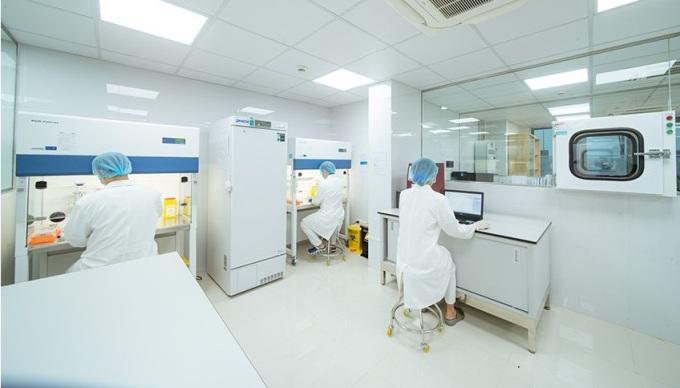 Bệnh viện Đa khoa Tâm Anh tiến hành xét nghiệm, chẩn đoán sức khỏe gan. Ảnh: BVĐk Tâm Anh