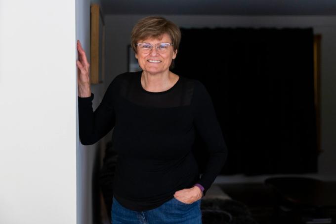 Katalin Kariko, nữ giáo sư chuyên ngành hóa sinh - sinh học phân tử người Hungary. Ảnh: Washington Post