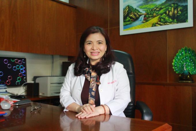 Chuyên gia dinh dưỡng, bác sĩ CKII Đỗ Thị Ngọc Diệp.