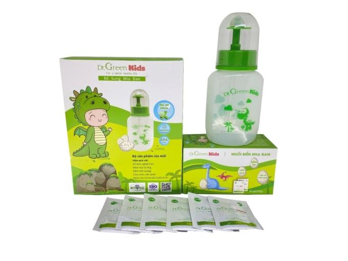 Bộ sản phẩm Dr Green Kids dành riêng đối tượng trẻ nhỏ.